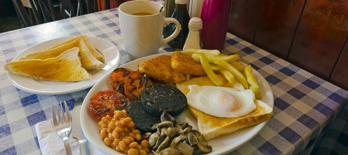 London Greasy Spoon - Alan Copson © 2011 - All Rights Reserved