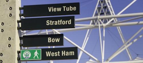 UK, England, London, Stratford, Olympic Park, Olympic Stadium